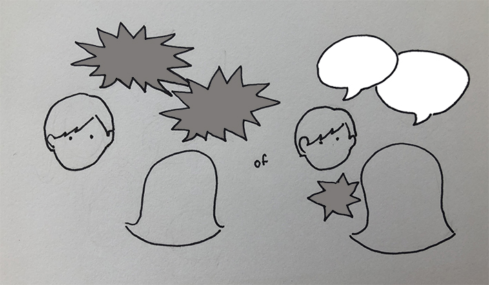 Illustratie Growing Kids - Chagrijnig 02 - b small